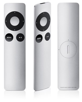 Aluminum apple remote